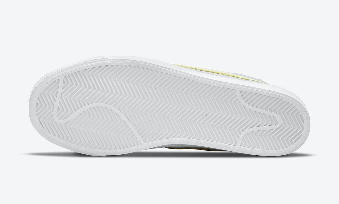 """ナイキ SB ブレーザー ミッド """"フェイディッド ライト デュー"""" Nike-SB-Blazer-Mid-Faded-Light-Dew-DA1839-300-sole"""