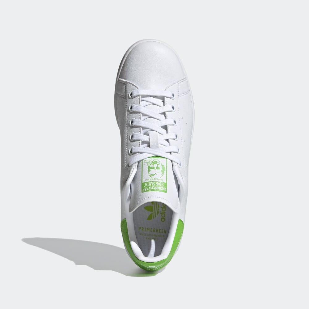 アディダス スタンスミス × カーミット adidas-kermit-stan-smith-FX5550-top