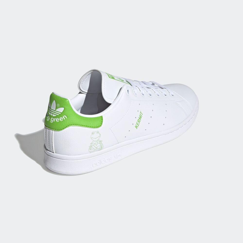 アディダス スタンスミス × カーミット adidas-kermit-stan-smith-FX5550-back