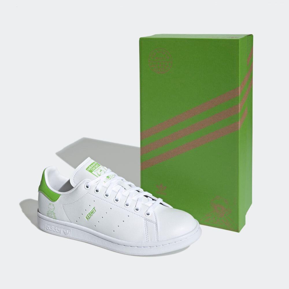 アディダス スタンスミス × カーミット adidas-kermit-stan-smith-FX5550-side-box