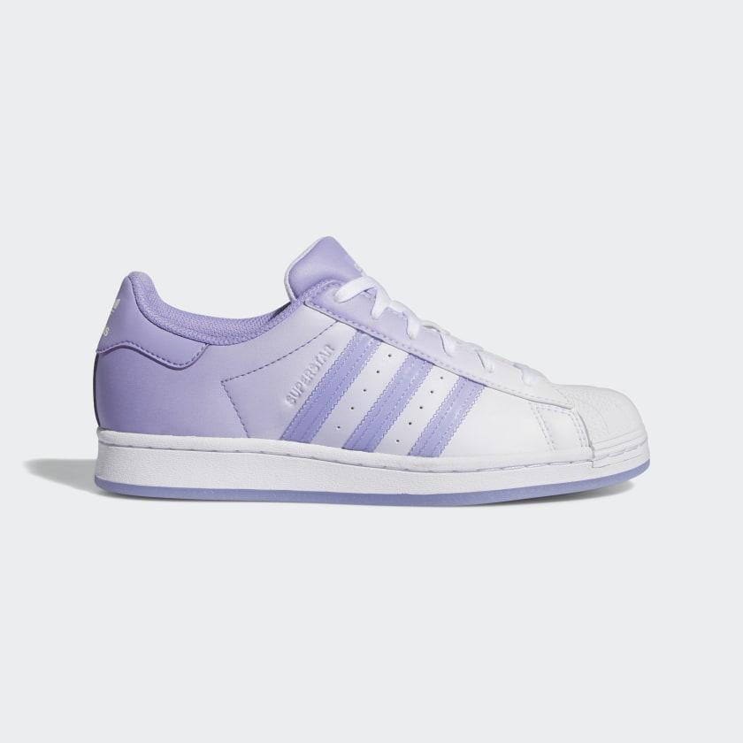 """アディダス ウィメンズ オリジナルス スーパースター """"ライト パープル"""" adidas_Superstar_wmns_light-purple_GW2936-side"""