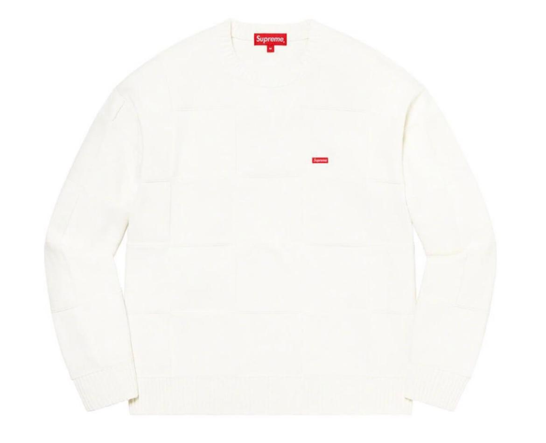 supreme 2021ss シュプリーム 2021春夏 week6 Tonal Checkerboard Small Box Sweater