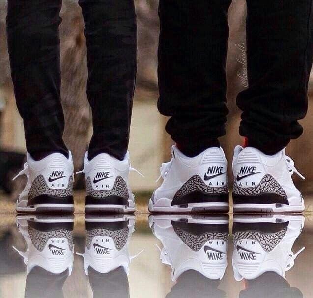 カップル スニーカー ペア おそろい ナイキ エアマックス Couple Sneakers Nike White Air Max
