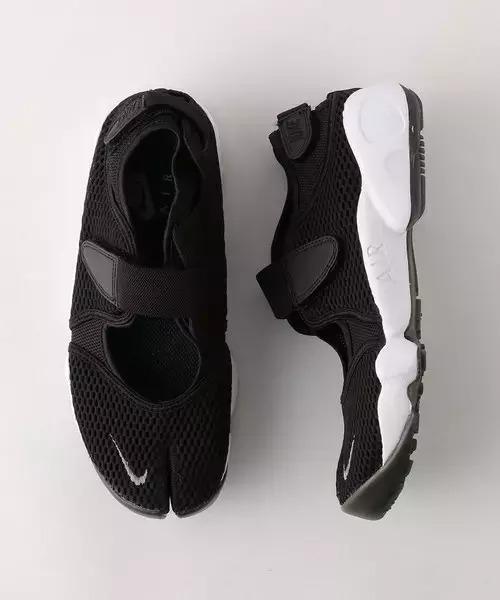 ナイキ エアリフト ブラック ホワイト おすすめ Nike Air Rift Black White detail