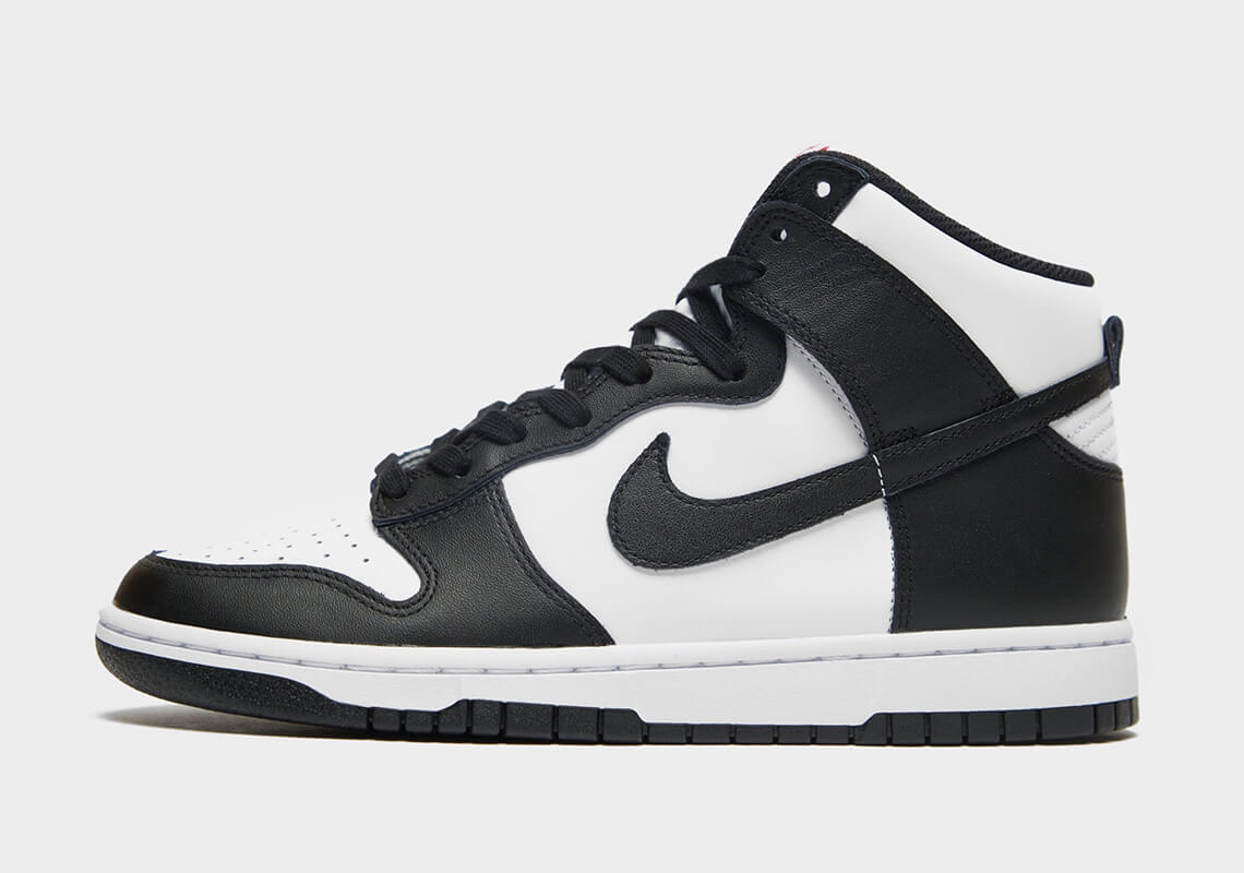 Nike Dunk High Black White ナイキ ダンク ハイ ブラック ホワイト White/Black-University Red DD1869-103