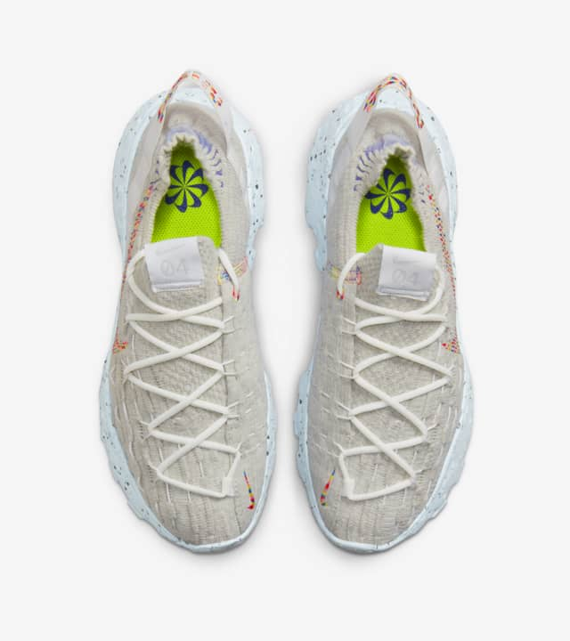 """Nike Space Hippie 04 """"Be True"""" ウィメンズ スペースヒッピー 04 - フォトンダスト This is Trash CZ6398-102 main"""