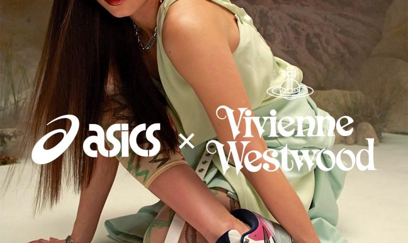 VIVIENNE WESTWOOD X ASICS INTRODUCE LATEST GEL-KAYANO 27 DE アシックス ヴィヴィアン・ウエストウッド ゲルカヤノ wearing