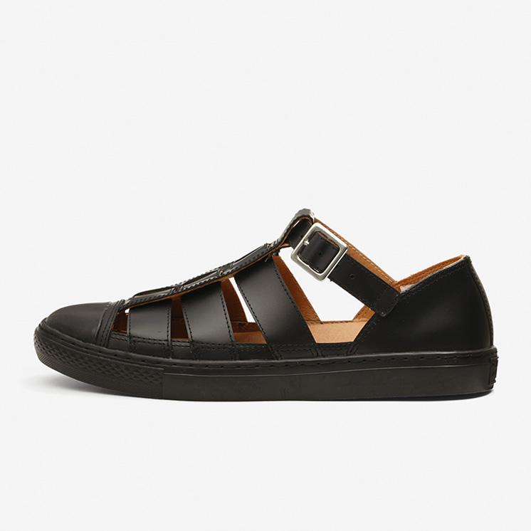 コンバース オール スター クップ グルカ サンダル OX (ブラック) converse-all-star-coupe-gurkha-sandal-ox-black-31303500-side