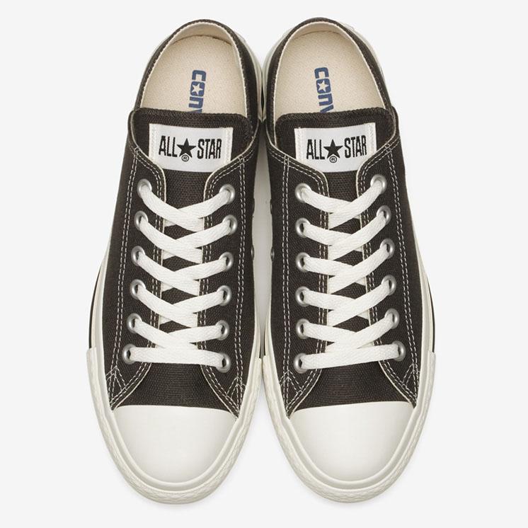 コンバース オールスター ヘンプ LP BB OX (スモーキーブラック) converse-all-star-hemp-lp-bb-ox-smoky-black-31304261-pair-top