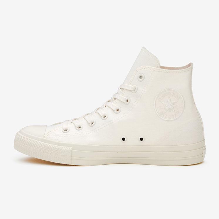 コンバース レザー オールスター 100 ホワイトプラス HI conversw-all-star-100-whiteplus-hi-31304350-side