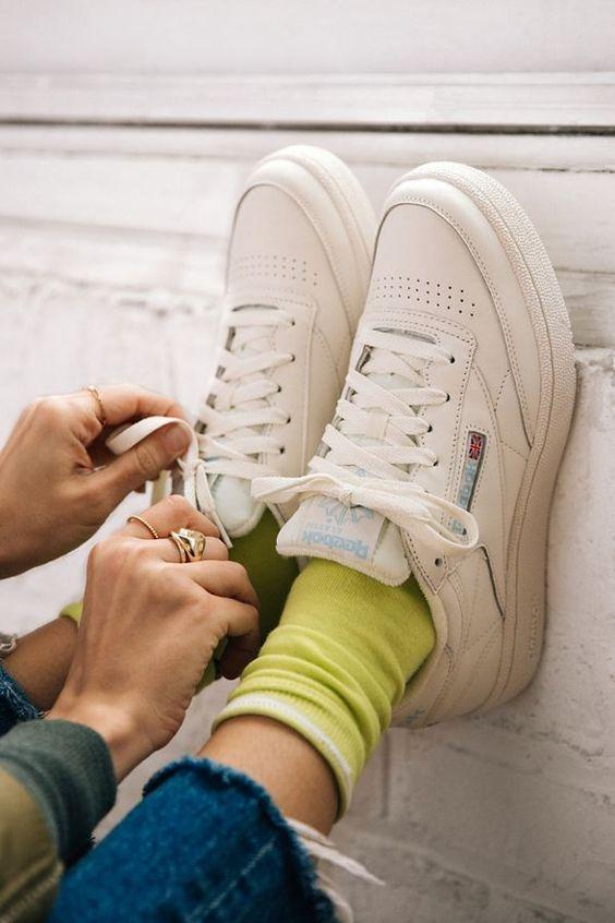 スニーカーのフィット感 easy-to-walk-ladies-sneakers-fitting