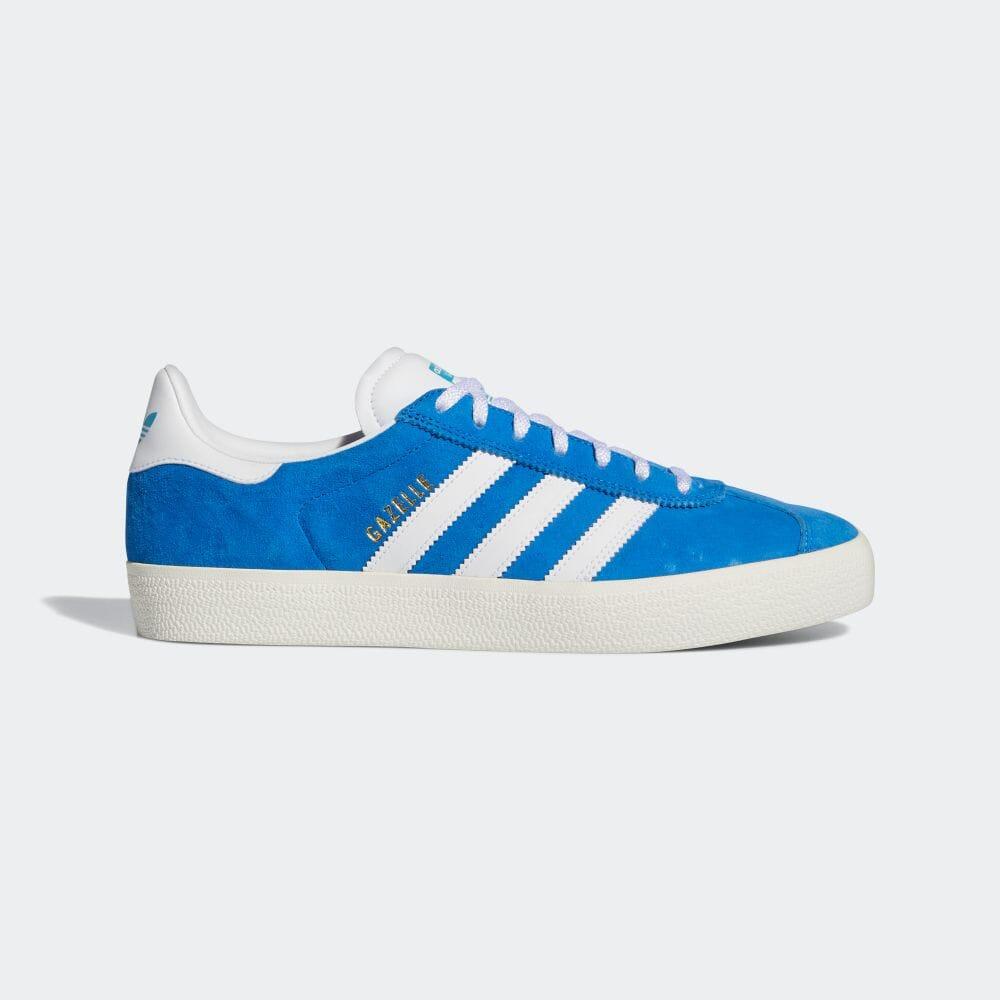 adidas 「Gazelle」 ladys-blue-sneakeres-styles-adidas-gazelle