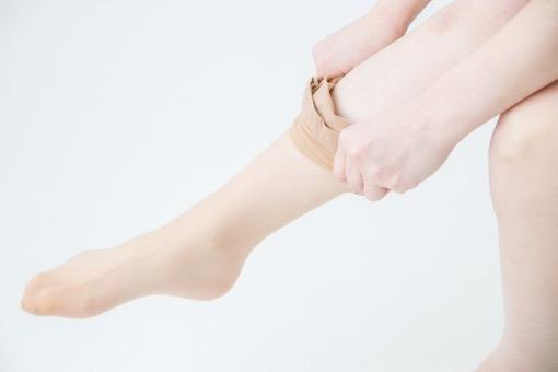 ストッキング 伝線 しにくい コツ ポイント sheer stocking socks how to wear tips