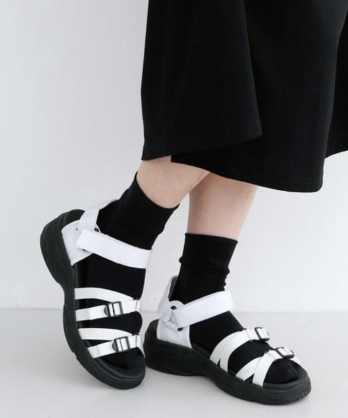 サンダルX靴下コーデ【色合わせ】合う色で選びましょう