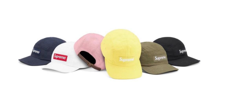 supreme 2021ss シュプリーム 2021春夏 week7 Linen Camp Cap