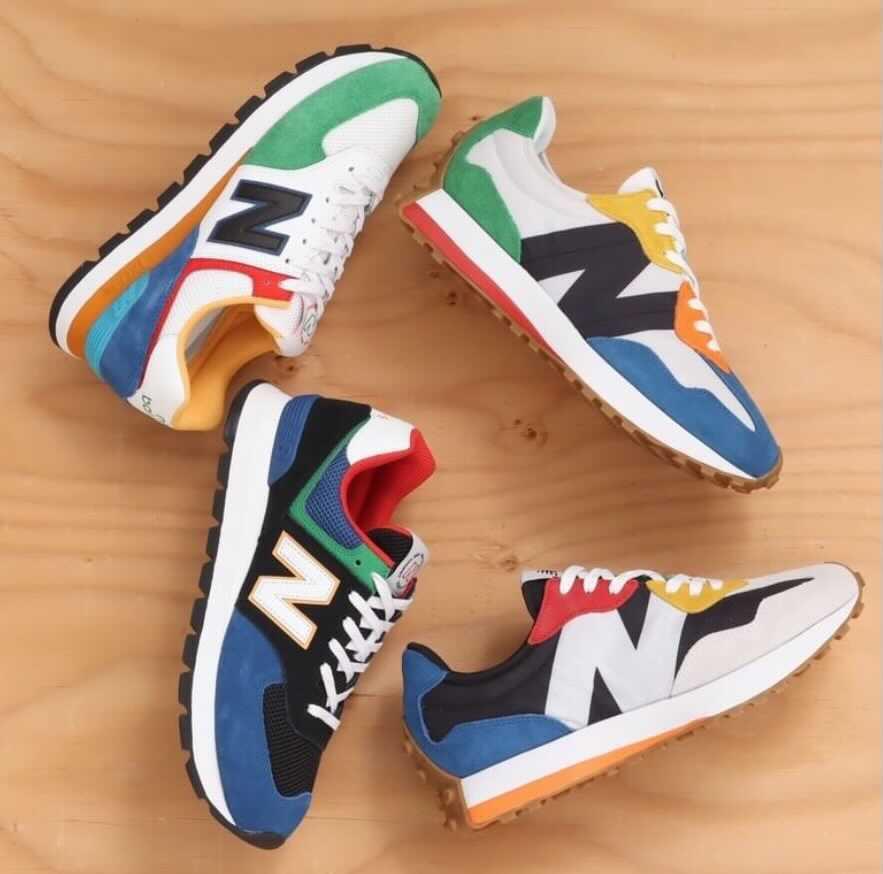 New Balance 327 & 574 main