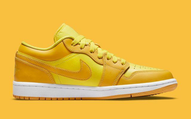 Nike Air jordan 1 Low Yellow DC0774-700 ナイキ エアジョーダン1 ロー イエロー main