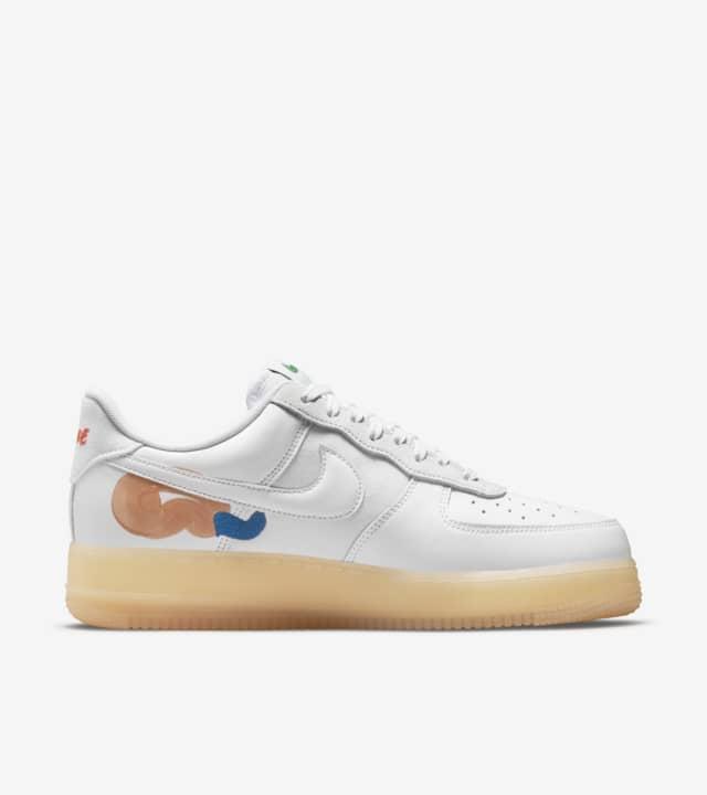 Nike × 山瀬まゆみ Air Force 1 & Blazer Low Flyleather Nike × 山瀬まゆみ Air Force 1 Flyleather White DB3598-100 エアフォース1