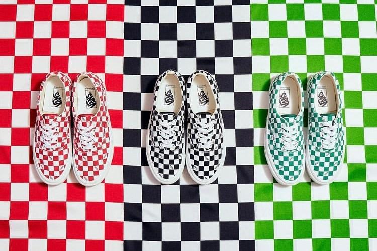"""バンズ ボルト OG エラ LX """"チェッカーボード"""" 全3色 Vans_Vault_OG_Era_LX_Checkerboard_3_colors_look"""