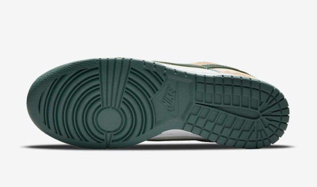 """ナイキ ダンク ロー SE """"マルチカモ"""" Nike-Dunk-Low-Multi-Camo-DH0957-100-sole"""