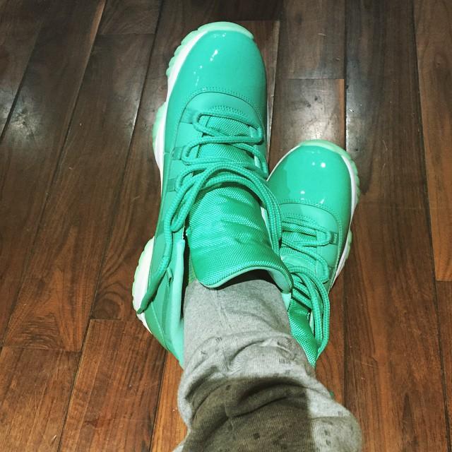 Air Jordan 11 Emerald Chris Paul PE