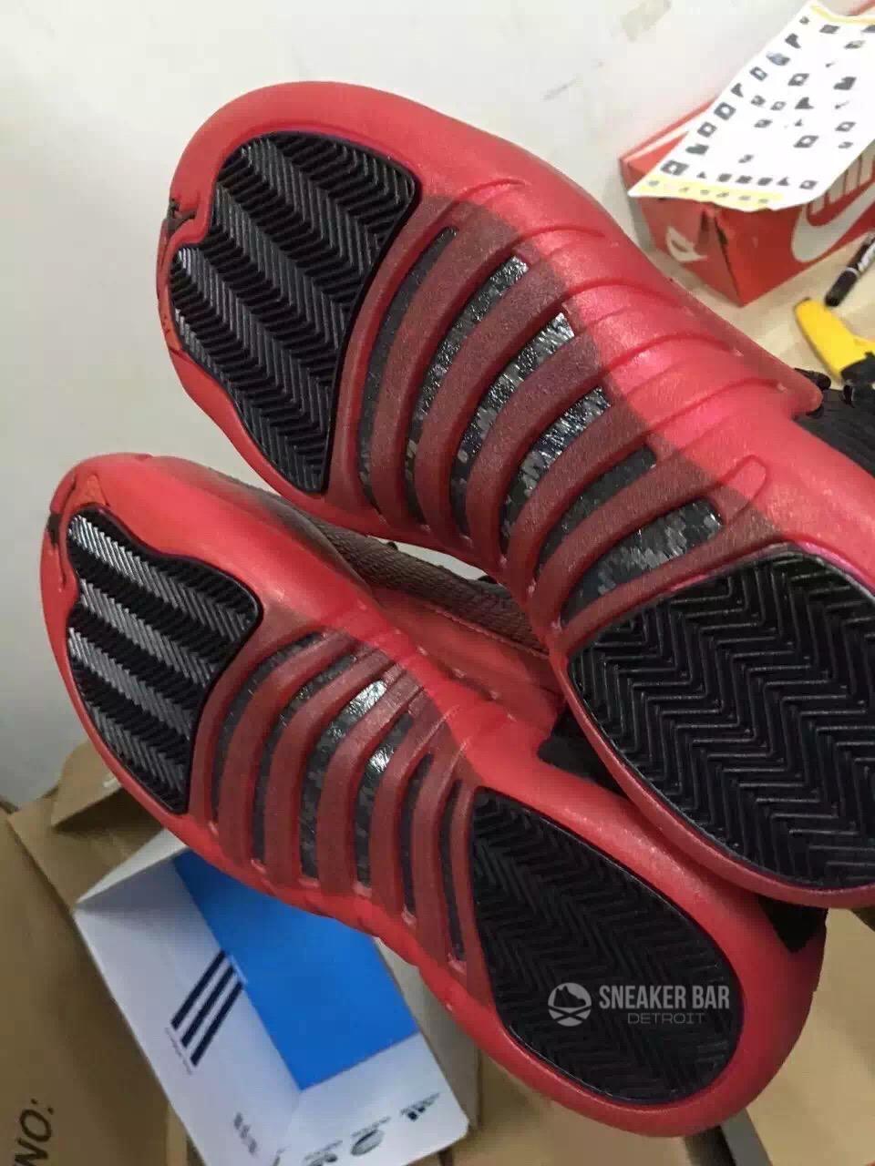 2016 Air Jordan 12 Flu Game Black Red Release Date