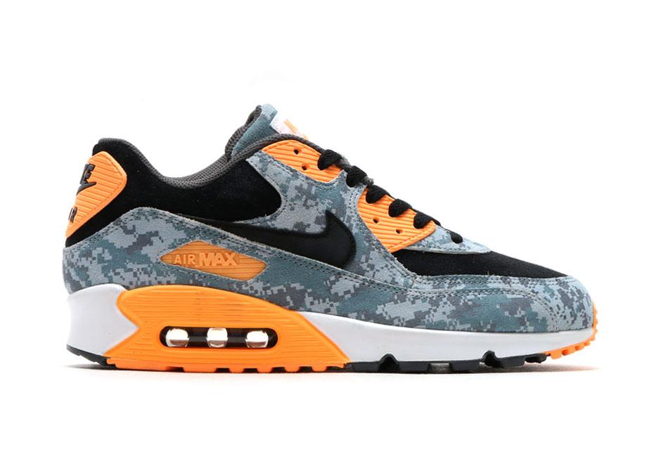 Nike Air Max 90 Prm Blue Digi Camo Sneaker Bar Detroit