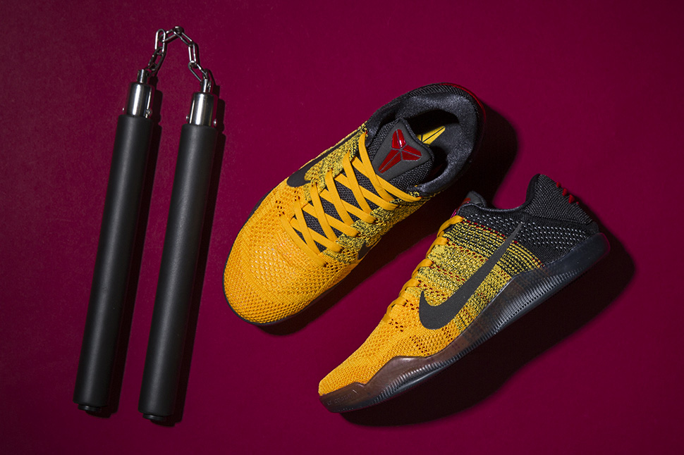 Bruce Lee Kobe 11 Warrior Spirit