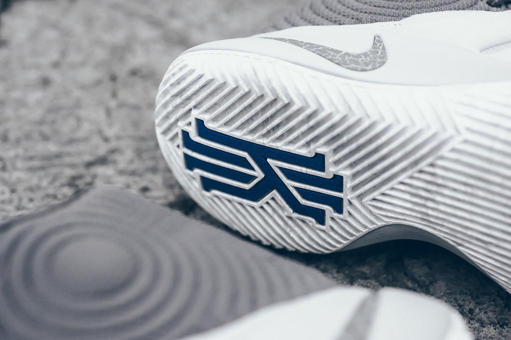 Wolf Grey Nike Kyrie 2 Omega Blue