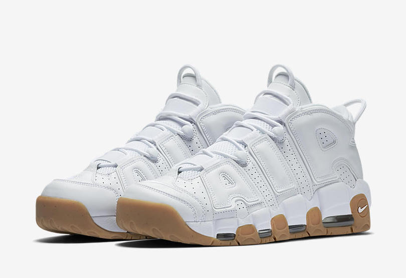 Nike Air More Uptempo White Gum Release Date
