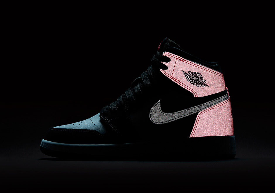 Air Jordan 1 Valentines Day 881426 009 Black Pink SBD