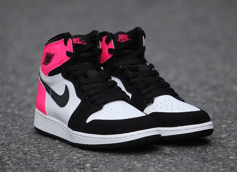 Air Jordan 1 Valentines Day 881426 009 Black Pink SBD