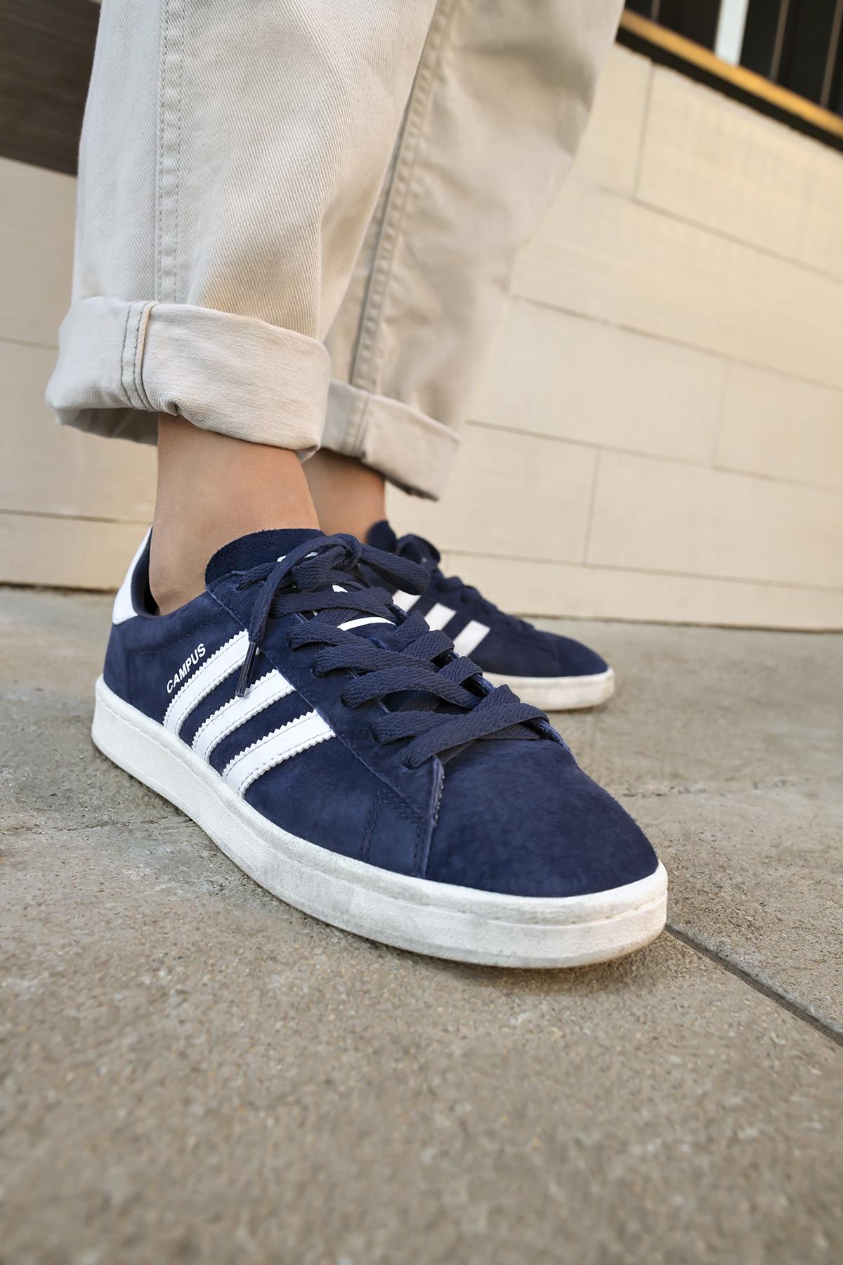 Adidas Campus Og Navy Grey Black June 2017 Sneaker Bar