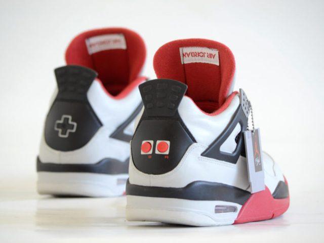 air jordan 4 nes mario bros custom 3 - Air Jordan 4 NES Customs Has Been Revealed