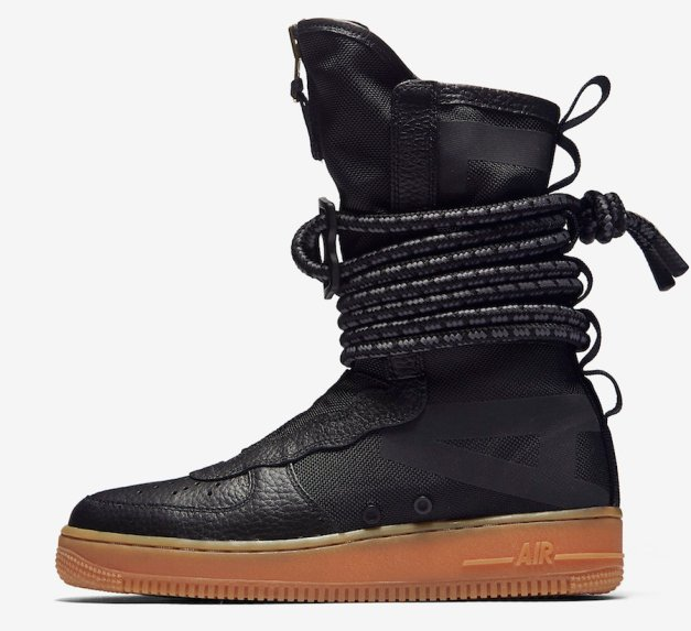Nike SF-AF1 High Black Gum AA3965-001