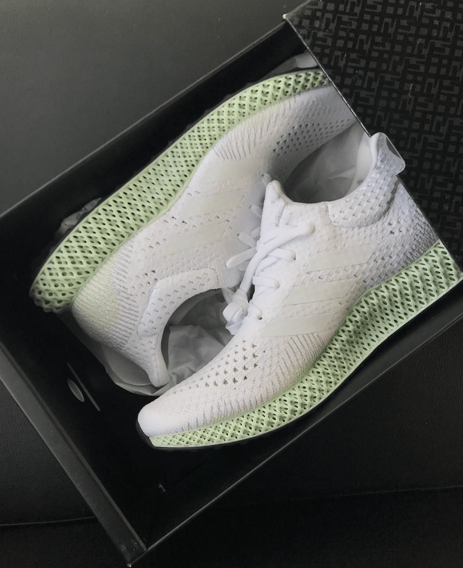 Adidas Futurecraft 4D White Release Date Sneaker Bar Detroit