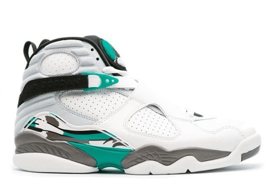 Air Jordan 8 Turbo Green 305381-113 2018 Retro
