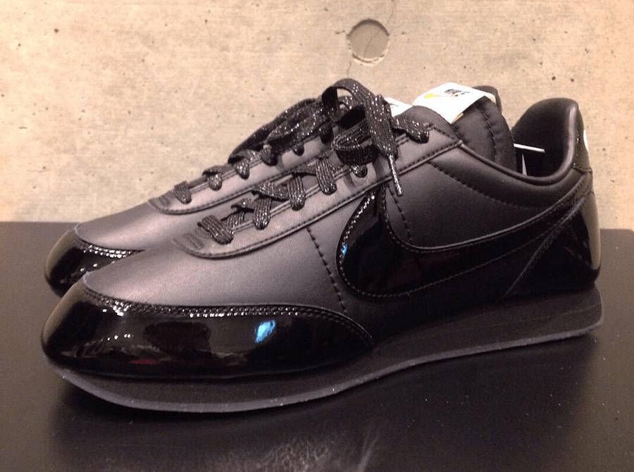 COMME Des GARONS Black Nike Night Track Sneaker Bar Detroit
