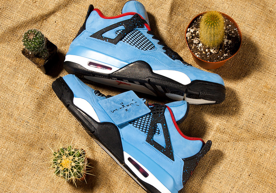 wholesale dealer fb831 1dbab Air Jordan 4 Travis Scott Release Date
