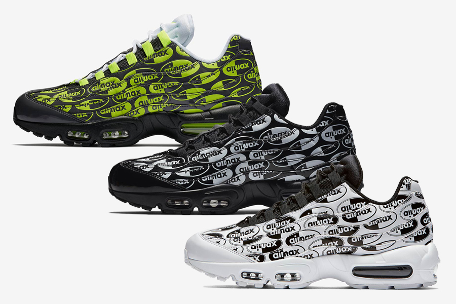 """cf125895c03b Nike Officially Releases Their Air Max 95 """"Logo Pack"""""""