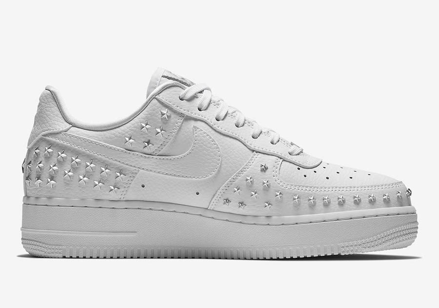 Nike Air Force 1 Low White Stars Moves