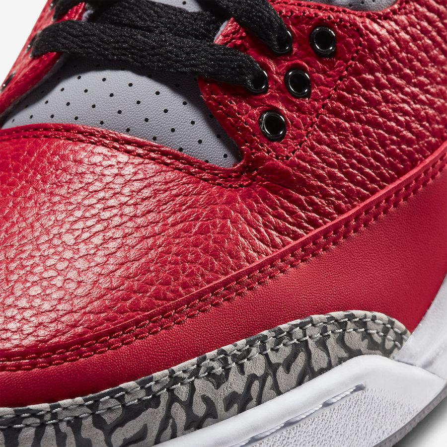 Air Jordan 3 NIKE CHI Chicago Exclusive CU2277-600 Release Date