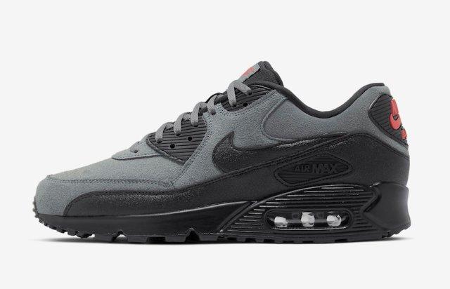 Nike Air Max 90 Essential Grey Suede AJ1285-025 Release Date