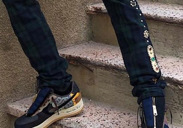 Travis Scott Nike Air Force 1 Low Zipper Release Date