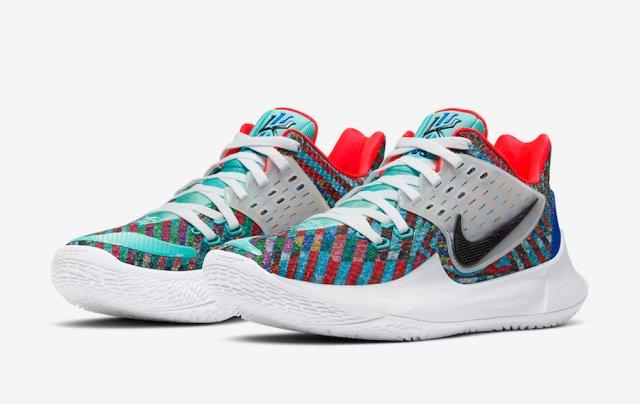 Nike Kyrie Low 2 Multi-Color Light Aqua Black White AV6337-400 Release Date