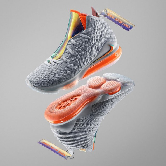 Nike LeBron 17 Future Air Remove Before Launch Release Date