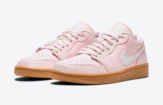 Women's Air Jordan 1 Low 'Arctic Pink / Gum'