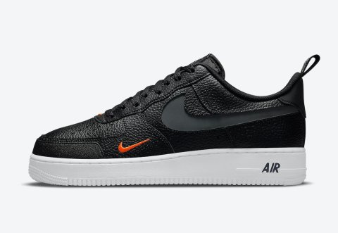 Nike Air Force 1 '07 LV8 'Black / Total Orange'