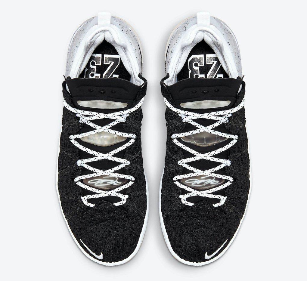 Nike LeBron 18 Black Gum CQ9283-007 Release Date