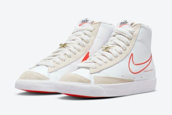 Women's Nike Blazer Mid '77 First Use 'Sail / Orange'